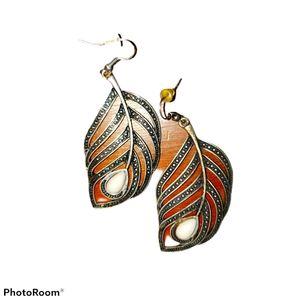 Vintage hanging earrings